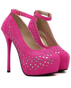 Girly pink shoes