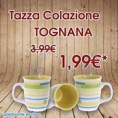 Tazza Tognana Colazione Cappuccino Caffè Porcellana  Super Offerta !