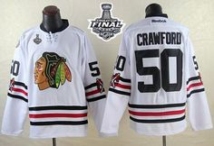d252d79f5 Blackhawks  50 Corey Crawford White 2015 Winter Classic 2015 Stanley Cup Stitched  NHL Jersey