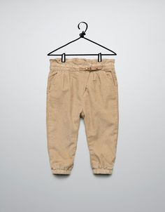corduroy trousers - Trousers - Baby girl (3-36 months) - Kids - ZARA Canada