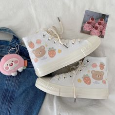 Edgy Outfits, Pretty Outfits, Cute Outfits, Fashion Outfits, Pretty Shoes, Cute Shoes, Me Too Shoes, Kawaii Shoes, Kawaii Clothes