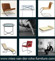 The Barcelona day bed is one of the most famous design furniture designs by Ludwig Mies van der Rohe. Other Bauhaus furniture or design classics are the Barcelona table, the Barcelona chair, the Barcelona stool, the chair Brno, the Cantilever chair B42 and the lounge chair 242.