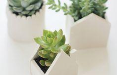 DIY – bloempotten van klei