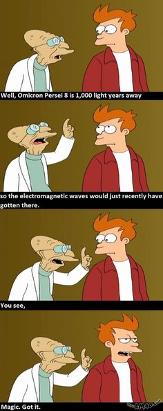Lawl.. you will love this! Magic | #explanation, #futurama, #funny