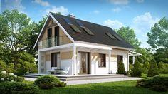 Projekt domu SZ5 Z216 - DOM OZ5-46 - gotowy projekt domu