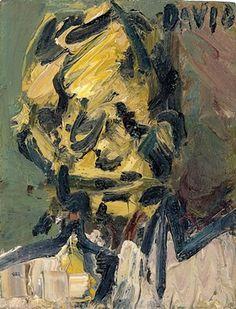 Frank Auerbach, Head of David Landau, 1990 info Frank Auerbach, Figure Painting, Painting & Drawing, Dentist Art, A Level Art, Portrait Art, Portraits, Conceptual Art, The Guardian