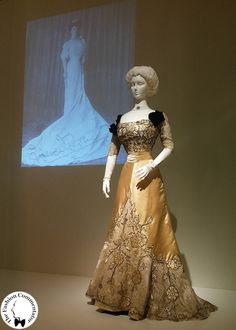 Donna Franca Florio - Evening dress, Worth Paris 1900-1905 - Galleria del Costume di Palazzo Pitti, Firenze