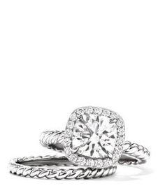 a9ab93b4857 david yurman engagement ring   love! I MUST HAVE THIS !! David Yurman  Wedding