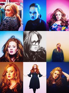 Adele - Amazing hair!