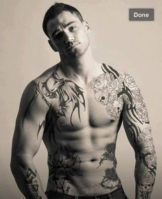 Hot guys with tattoos... Enough said