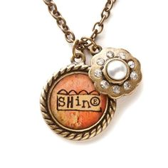 Demdaco Kelly Rae Roberts Fashion Shine Charm Necklace - $14.95