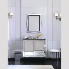 Master Bath | Kallista Glamour Collection by Barbara Barry | Embraces the grandeur of Hollywood in the 1940s in a classic collection for the modern bath. | ShopStudio41.com