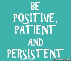 Raising Asperger's Kids: Positive Thought of the Day