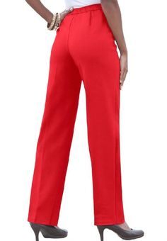Bend Over Plus Size Super Stretch Pull-on Pants $34.99