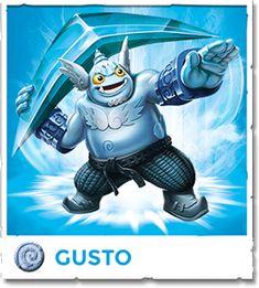 Gusto - Skylanders Trap Team Video Game Official Site