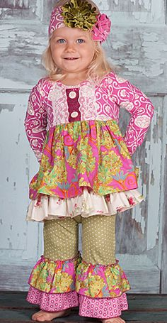 Giggle Moon Maddison Outfit for Girls PREORDER $78.00