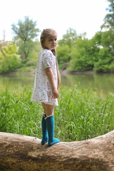 Linen dotty dress Slow Fashion, Lace Skirt, Heavenly, Skirts, Tops, Dresses, Women, Products, Vestidos