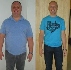 Father and son? NOPE- same guy (just 80 lbs gone haha!) So proud of you Scott!  Results vary. Typical weight loss is 2-5lbs the first two weeks and 1-2lbs each week thereafter.