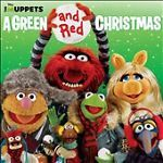 THE MUPPETS Green & Red Christmas CD, 2011, VG, Henson #Christmas