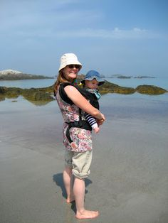 Summer Babywearing - Tips for wearing your baby close during hot summer months.