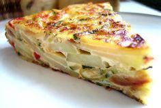 tortilla de légumes recette weight watchers gratuite