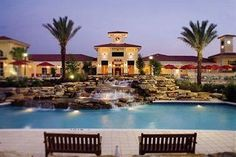 Vacations Orlando - Orange Lake Resort, fun ,fun, huge resort. My son would rather stay in the resort all day than go to Disney.--Holiday Inn Club Vacations Orlando, Orange Lake Resort.