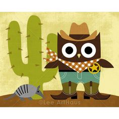 cowboy owl