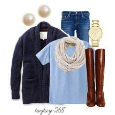 """""""winter blues"""" by taytay-268 on Polyvore"""