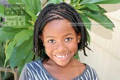 Box Twists with Organic Parts and Front Flat Rope Twists #Hairstyle #NaturalHair | Chocolate Hair / Vanilla Care