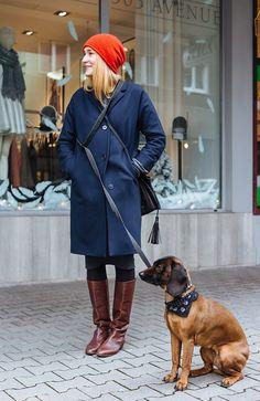 STREET STYLE: CHRISTMAS SHOP DOG DAYS Christmas Shopping, Dog Days, Street Style, Shirt Dress, Hunters, Shirts, Dresses, Fashion, Vestidos