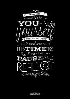 Mark Twain quote....