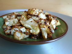 roasted cauliflower with garam masala