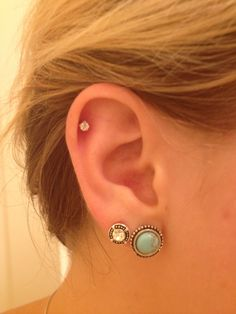 16 Best Cute Cartilage Piercing Images On Pinterest Ear Jewelry Accessories And Rings