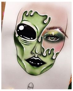 Makeup Drawing, Eye Makeup Art, Scary Makeup, Sfx Makeup, Facechart Makeup, Arabic Makeup, Indian Makeup, Mac Face Charts, Makeup Face Charts
