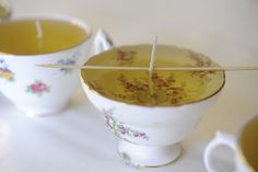 Cupcaked and Cashmere Teacup Candles!