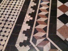 Church Floor in Sienna, Italy