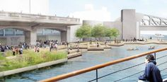 projeto Chicago Riverwalk