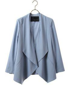 ドレープジャケット(テーラードジャケット)|YECCA VECCA(イェッカ ヴェッカ)のファッション通販 - ZOZOTOWN