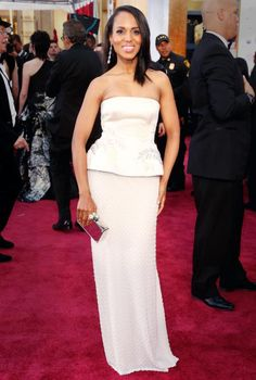 Amazing Must-See Oscars Moment: Kerry Washington Gets Her Groove On  #InStyle
