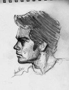 Dylan O' Brien fast sketch by Bluecknight on DeviantArt