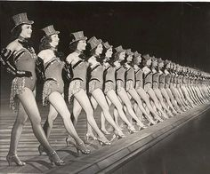 The Rockettes 1952::
