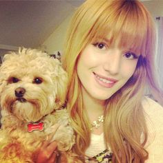 Bella Thorne With Kingston August 4, 2013
