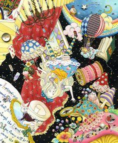 Alice in Wonderland by Hiromi Sato