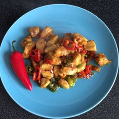 43799 Chilli Recipes, Kung Pao Chicken, Menu, Ethnic Recipes, Food, Menu Board Design, Eten, Meals, Chili Recipes