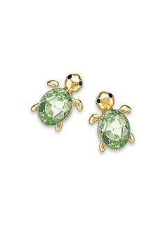 Main Cute As Can Be Turtle Earrings
