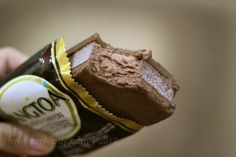 Choco-chiffon Korean ice cream sandwich