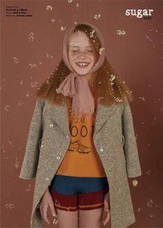 Elia from Sugar Kids for Milk Magazine by Carmen Ordóñez.