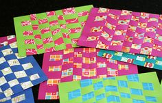 Get Ready- use card stock paper fold it in half hamburger style. Make 5-8 cuts from the fold inward leave an inch on the ends. Use colorful paper to make fun patterns cut strips for weaving. Have print outs of Nehemiah 8:10 to glue onto the weaving. ;)