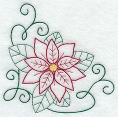 Machine Embroidery Designs at Embroidery Library! Christmas Embroidery Patterns, Hand Embroidery Patterns, Embroidery Applique, Cross Stitch Embroidery, Machine Embroidery Designs, Vintage Embroidery, Felt Christmas Decorations, Christmas Crafts, Prim Christmas