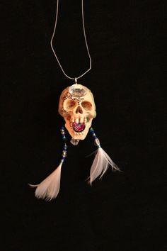 skull jewelry by *olgatarta on deviantART